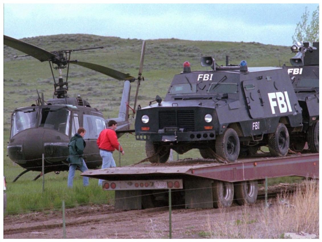 Standoff with the Montana Freemen
