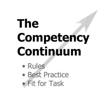 Competency Continuum