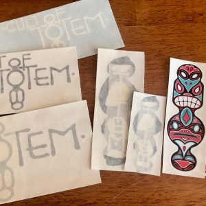 Totem Sticker Set
